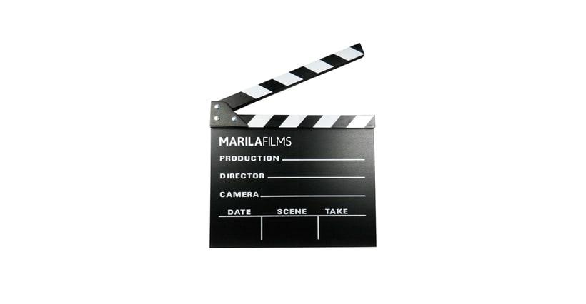 Identidad corporativa para MARILA FILMS 1