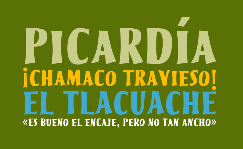 20 tipografías gratuitas made in España y Latinoamérica 33