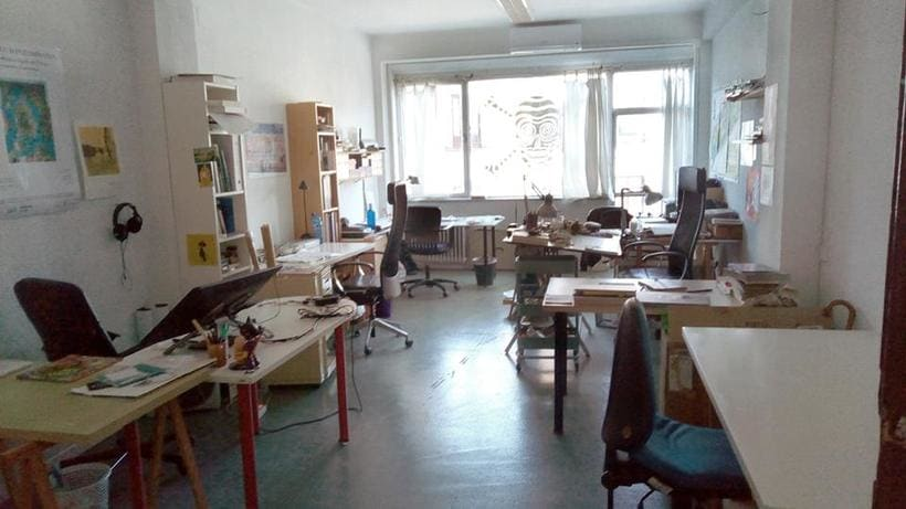 Espacio de trabajo en el centro de Madrid 2
