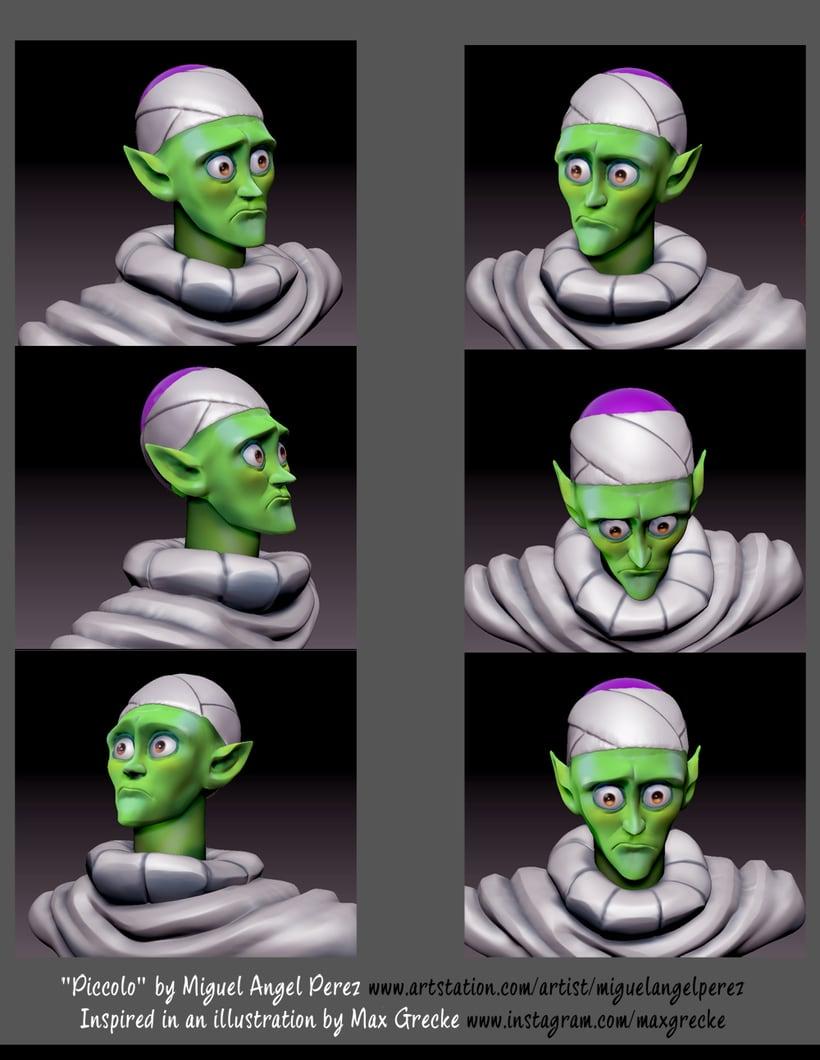 Modelado de personajes en 3D 1