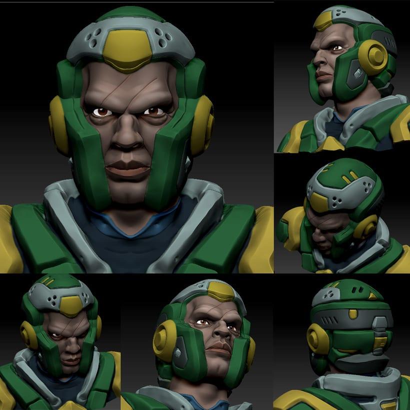 Modelado de personajes en 3D 2