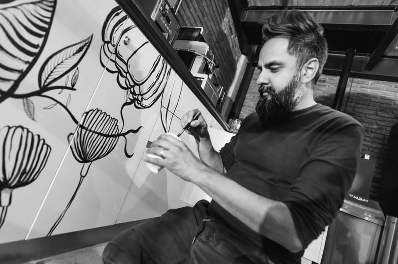 """INTERVENCIÓN ARTÍSTICA EN """"KROW"""" 2"""
