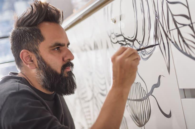 """INTERVENCIÓN ARTÍSTICA EN """"KROW"""" 3"""