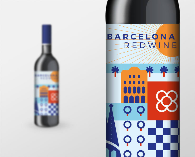 Barcelona Red Wine 3