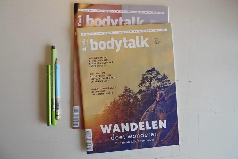 Colaboraciones  Bodytalk Magazine.   1
