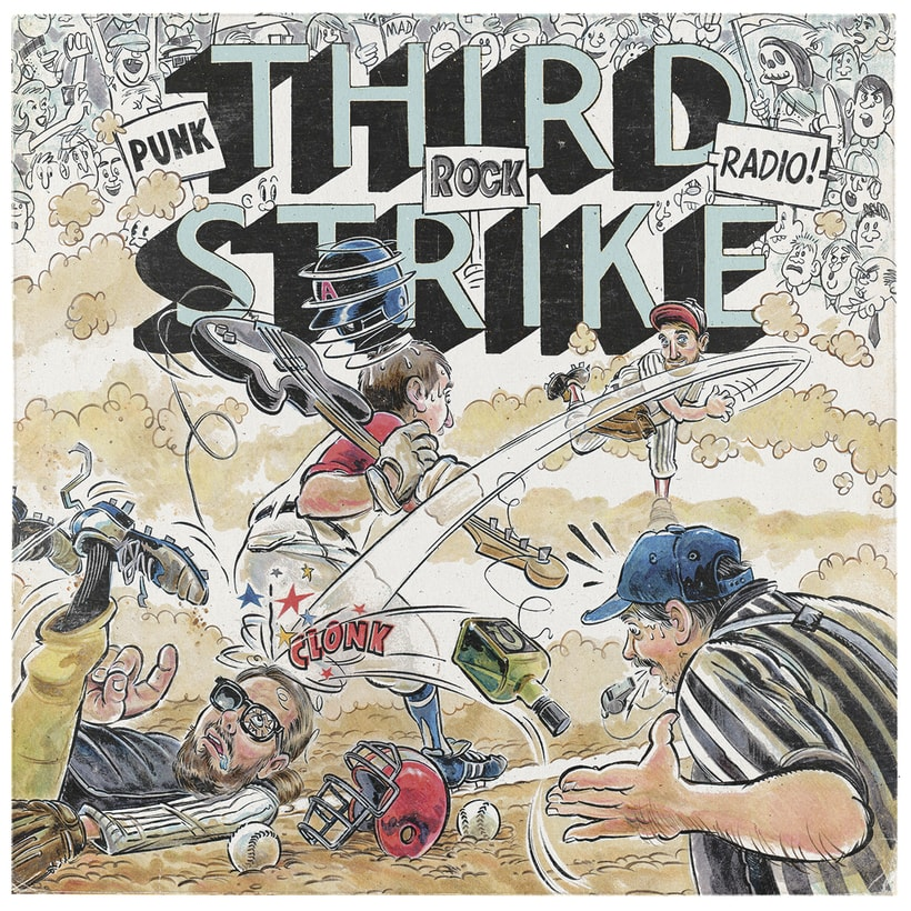 Third Strike Álbum Artwork 0