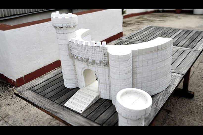 Modelismo - Escenografía (Castillo Medieval) -1