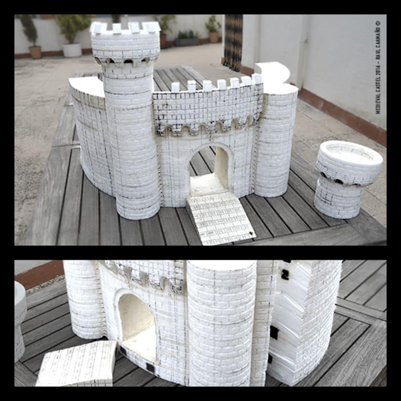 Modelismo - Escenografía (Castillo Medieval) 1