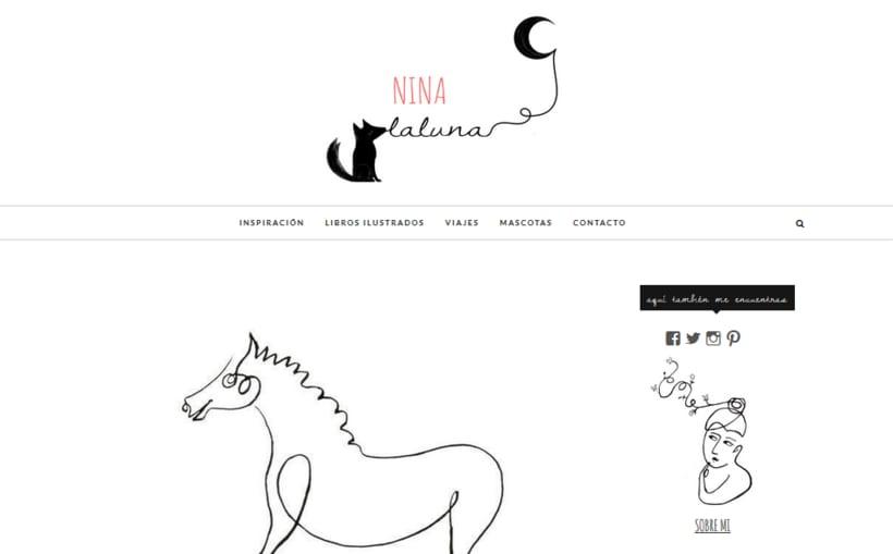 proyecto para blog personal: www.ninalaluna.com 0