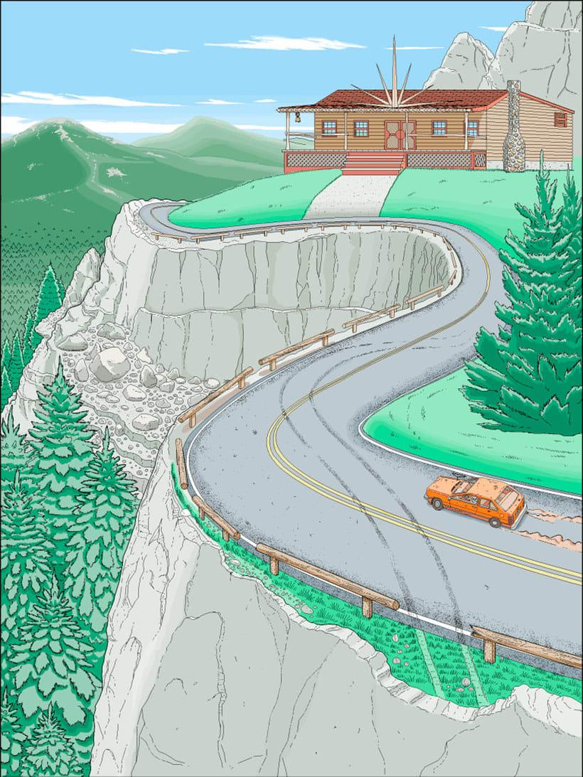 Una novela ilustrada con Paint a base de pixel art 3