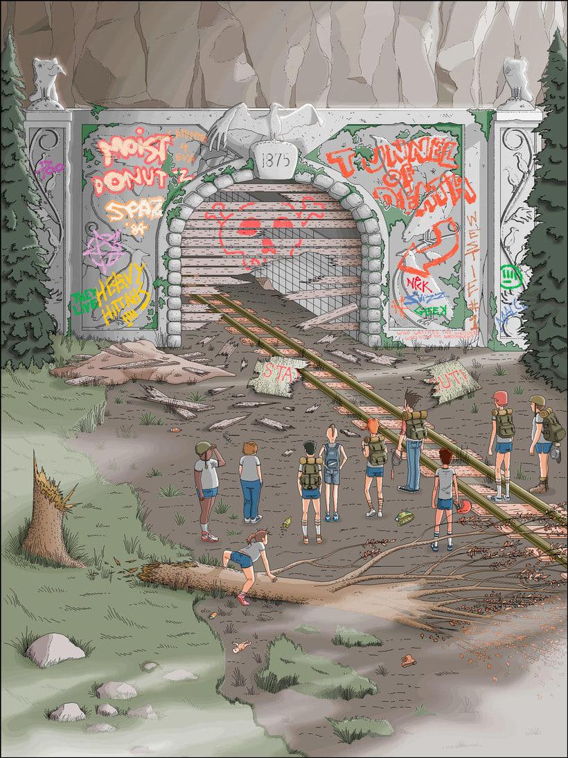 Una novela ilustrada con Paint a base de pixel art 6
