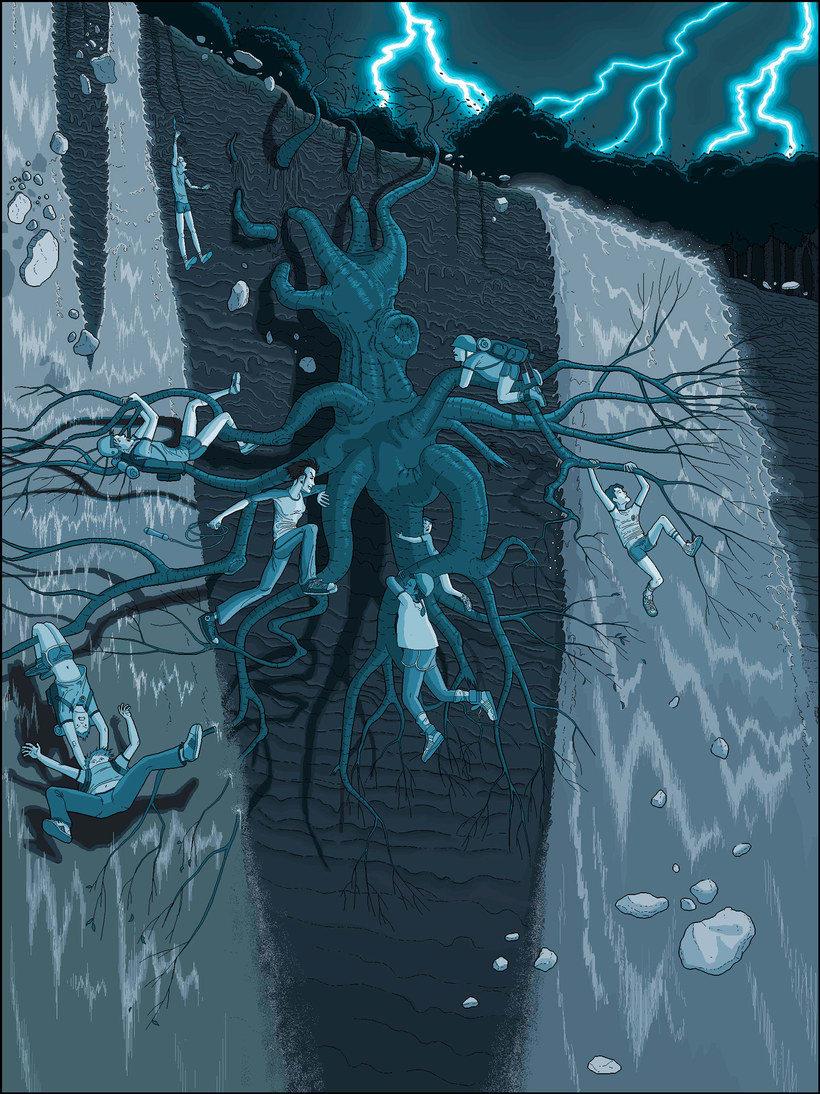 Una novela ilustrada con Paint a base de pixel art 9