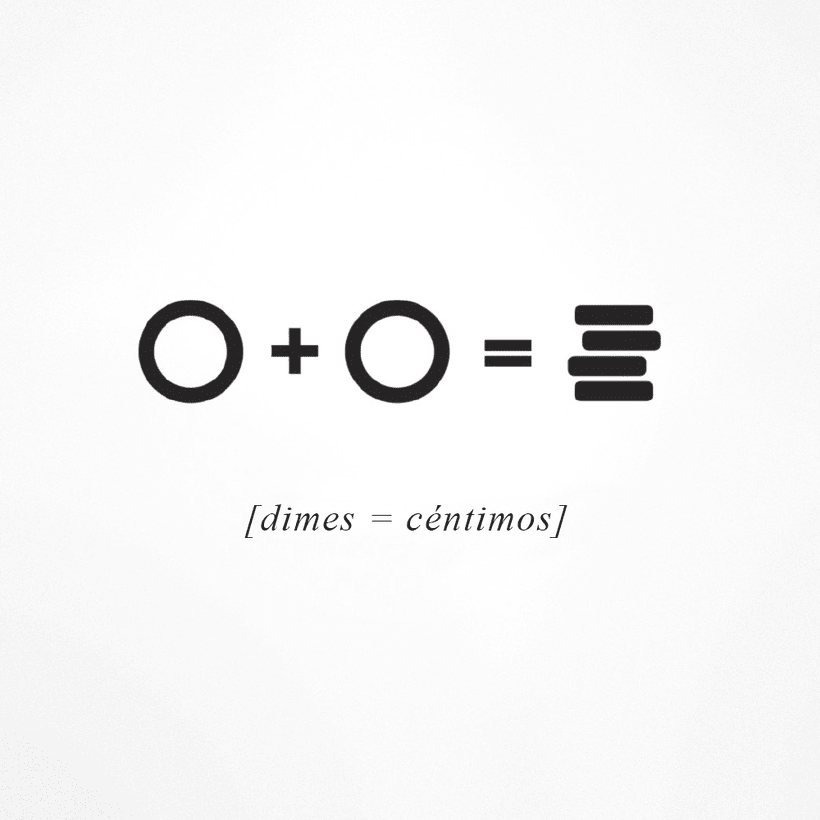 Dimes / Céntimos 1