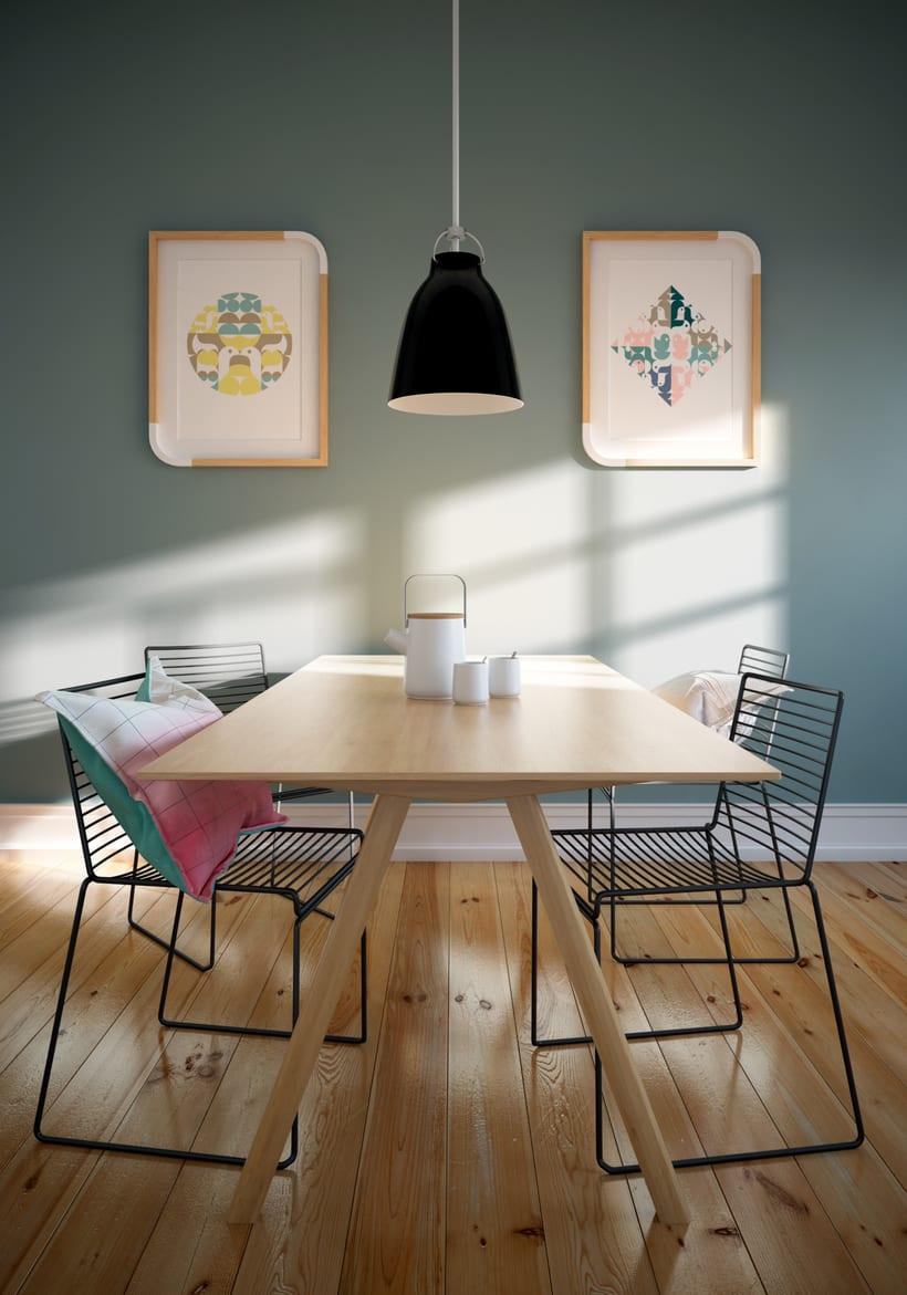 Dining corner. -1