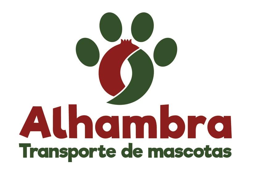"""Logotipo, papelería y rotulación de furgoneta """"Alhambra"""" 1"""
