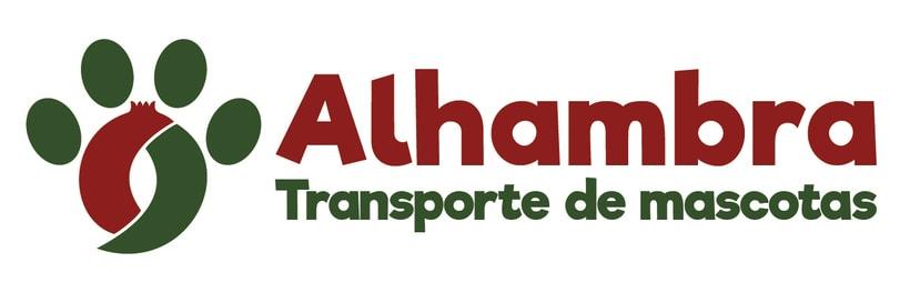 """Logotipo, papelería y rotulación de furgoneta """"Alhambra"""" 2"""