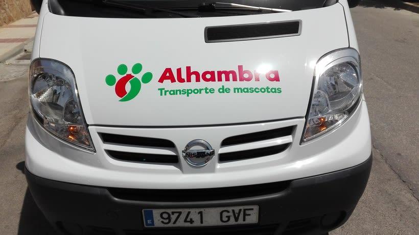 """Logotipo, papelería y rotulación de furgoneta """"Alhambra"""" 8"""