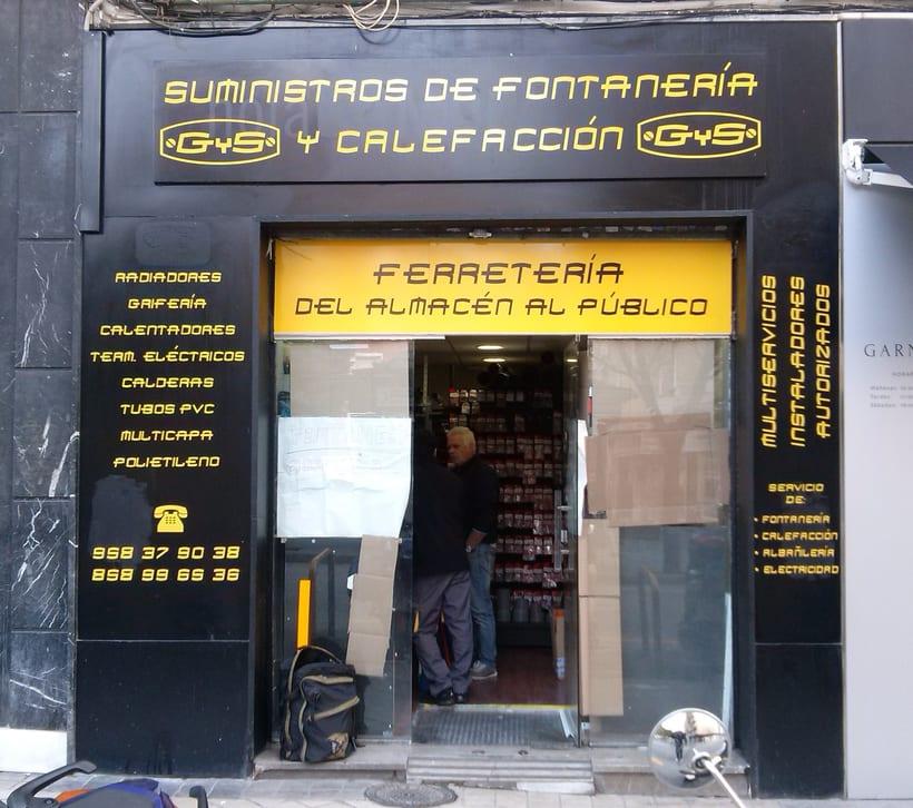 Rotulación de locales comerciales 2