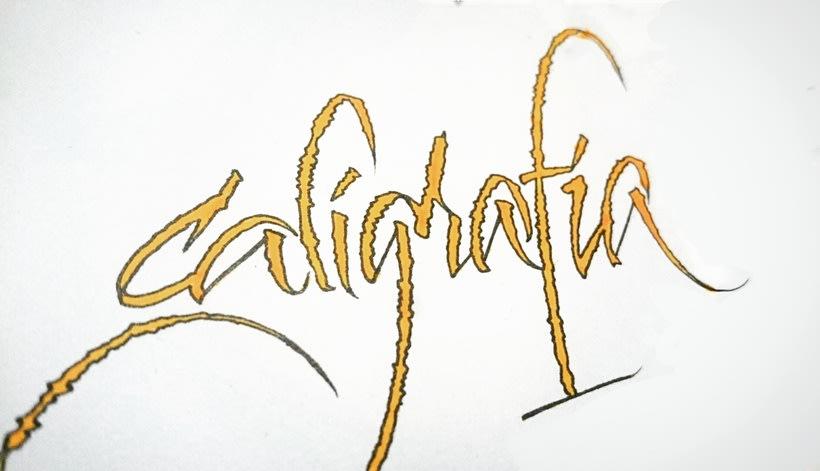 Caligrafía III 1