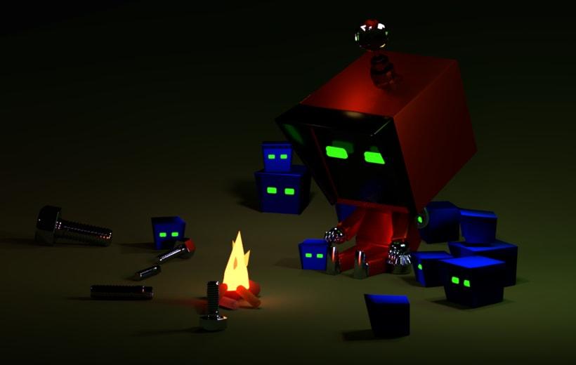 Mi Proyecto del curso: Introducción al Diseño y Modelado 3D con Blender 0