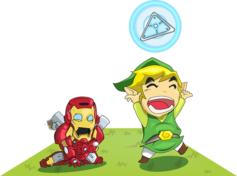 Zelda / Iron man 3