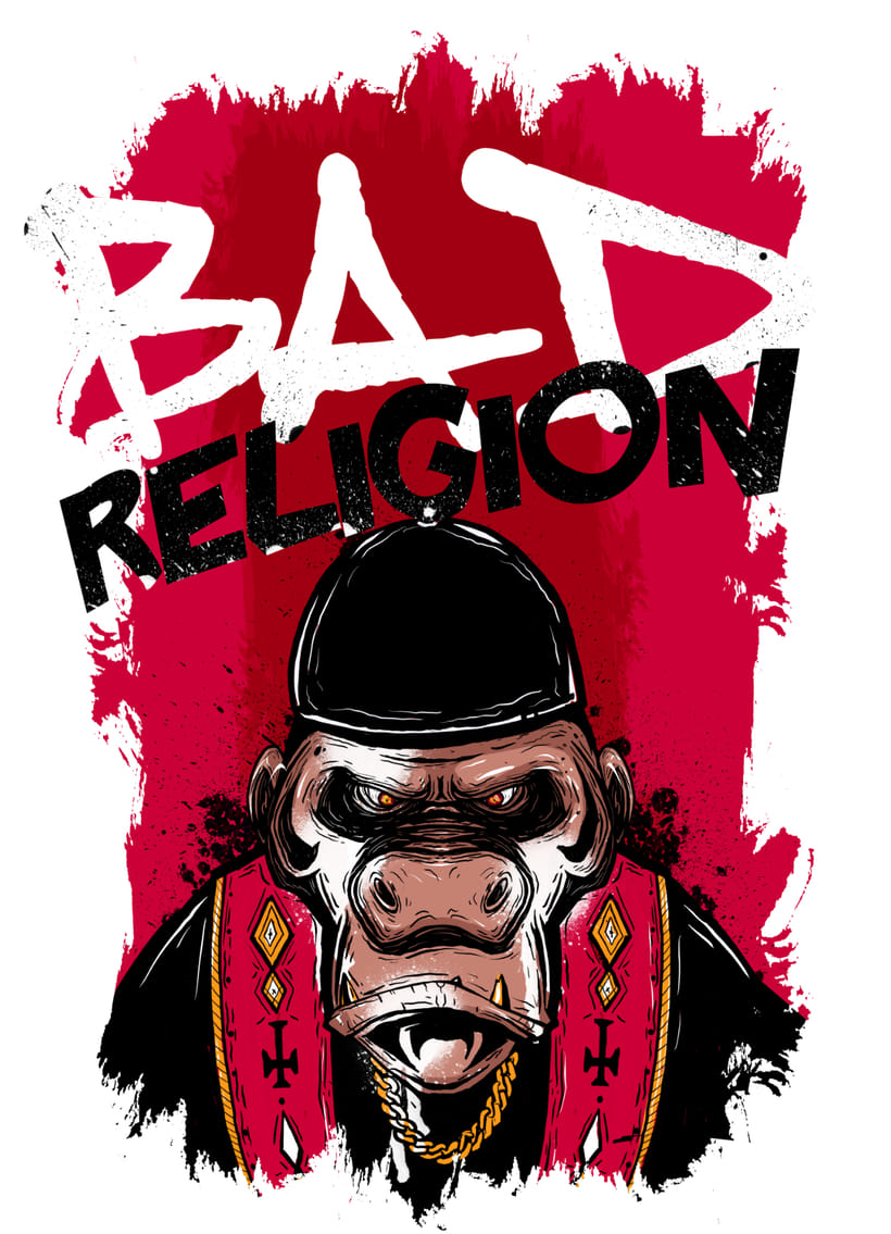 Bad Religion Poster Band -1