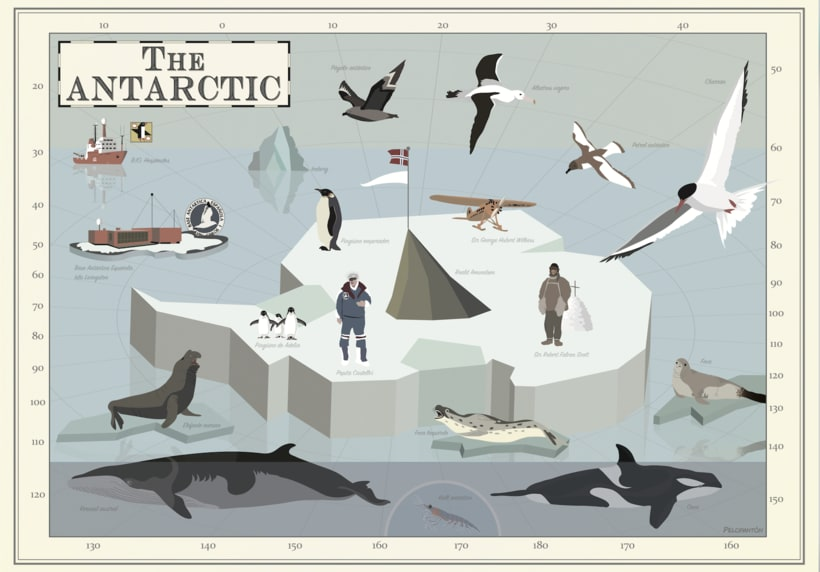 The Antarctic -1