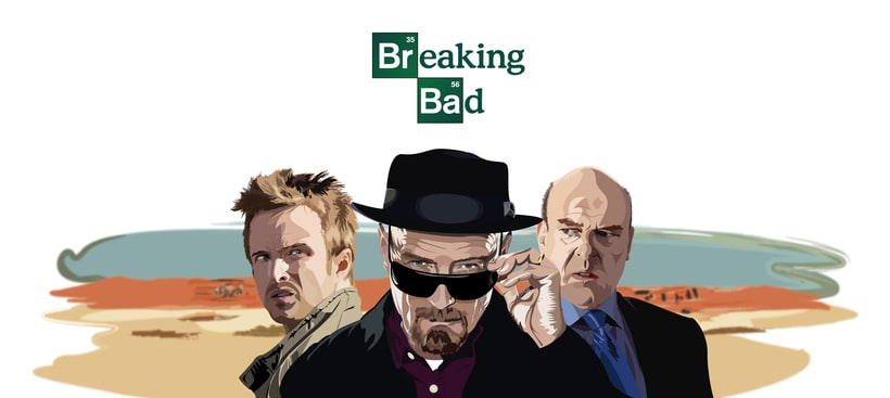 Illustration Breaking Bad 0