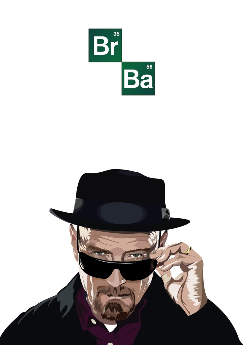 Illustration Breaking Bad 1