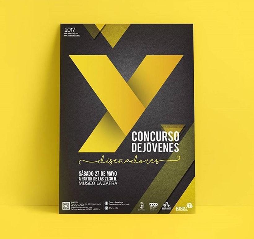 """Cartel ganador Concurso """"Y"""" Jóvenes Diseñadores -1"""