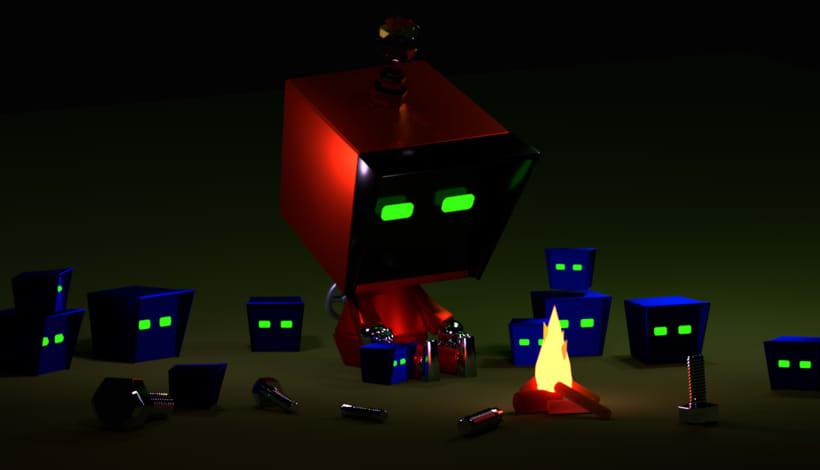 Mi Proyecto del curso: Introducción al Diseño y Modelado 3D con Blender 1