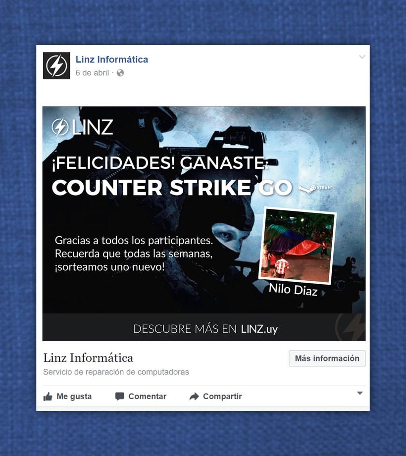Linz Informática - Facebook posts 0