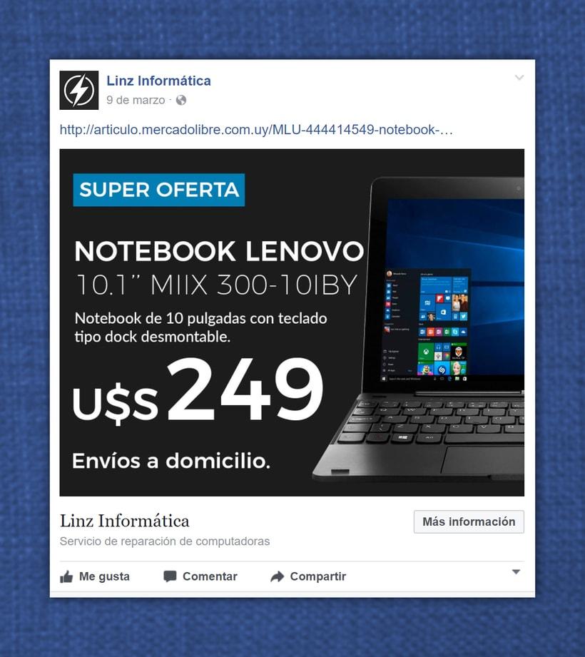 Linz Informática - Facebook posts 1