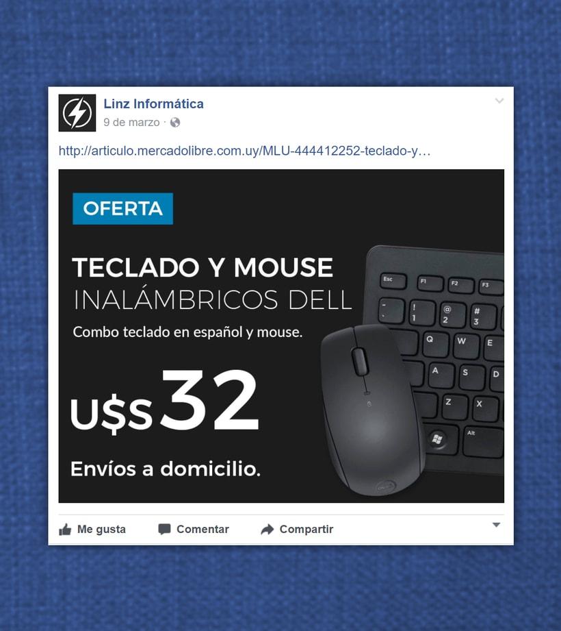 Linz Informática - Facebook posts 2