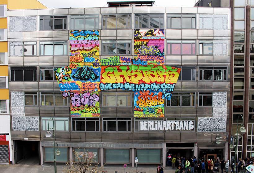 THE HAUS, una impresionante galería de arte urbano en Berlín 1