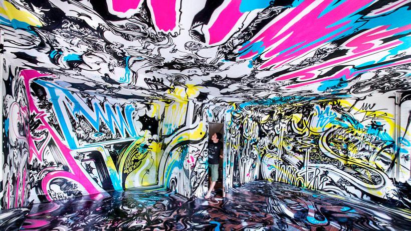 THE HAUS, una impresionante galería de arte urbano en Berlín 3