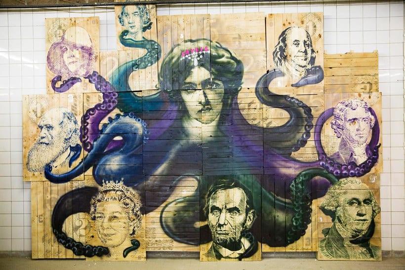 THE HAUS, una impresionante galería de arte urbano en Berlín 15