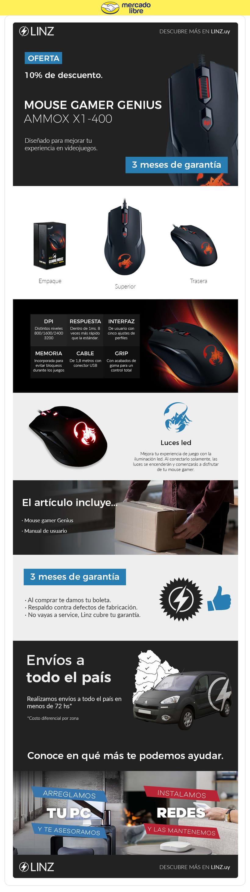 Linz Informática - Plantillas Mercadolibre 1