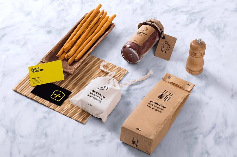 """Breadlosophy - Identidad para un pan """"handmade"""" 0"""