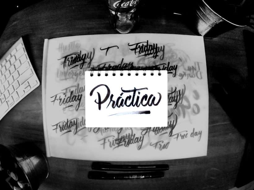 Colección de Lettering & caligrafía 7