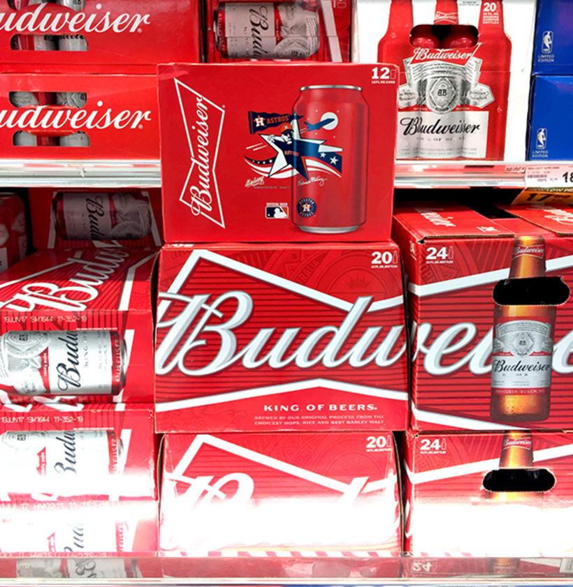 Budweiser Artist Can 4