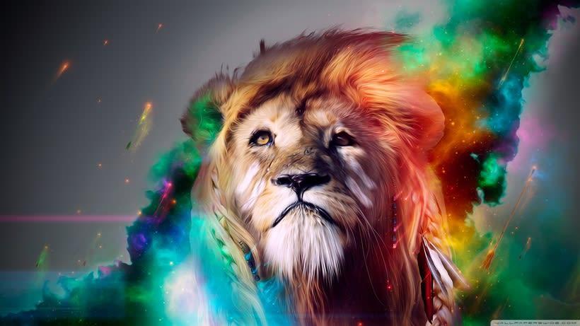 Leon arcoiris 0