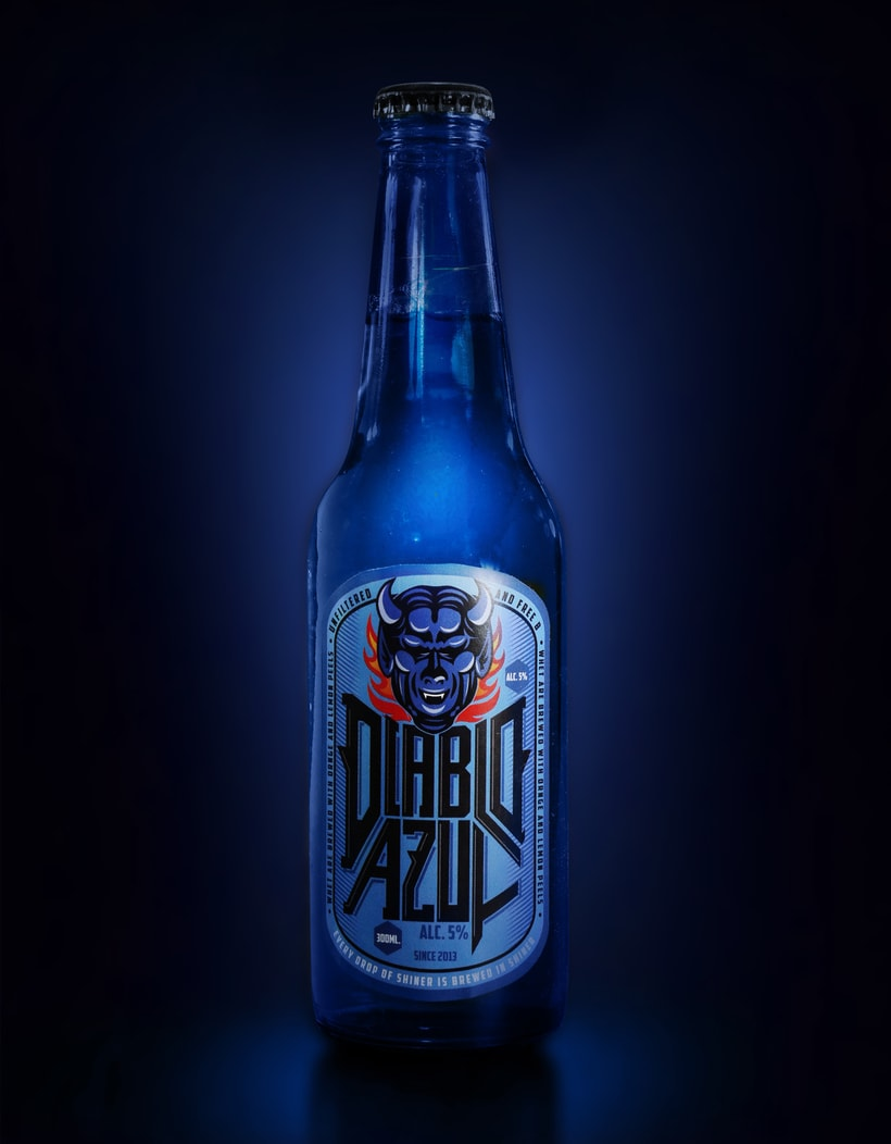 Diablo Azul Beer - Packaging 3