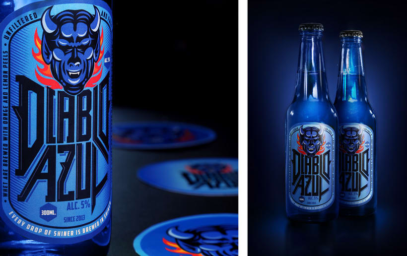 Diablo Azul Beer - Packaging 4