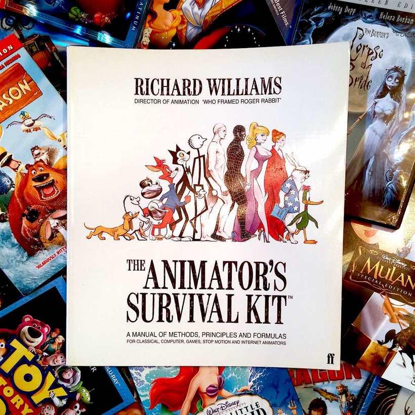 """Vendo libro de animación """"The animator's survival kit"""" considerado como """"La biblia"""" de la animación 1"""