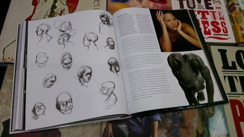 """Vendo libro """"Anatomía para el artista"""". 2"""