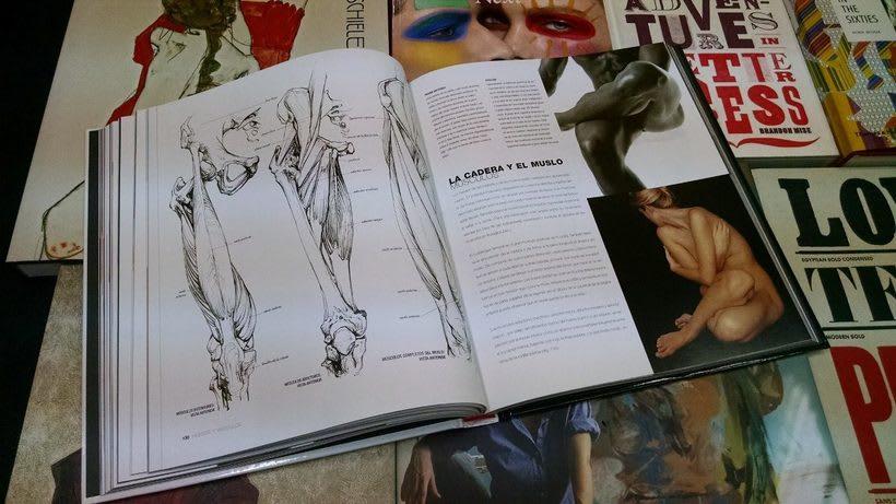 """Vendo libro """"Anatomía para el artista"""". 3"""