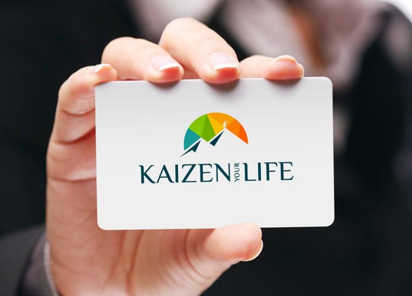 """Diseño de logotipo para Kaizen your Life, una empresa dedicada al """"Coaching"""" personal y ejecutivo, formación a particulares y empresas y servicios de consultoría de RRHH. 0"""