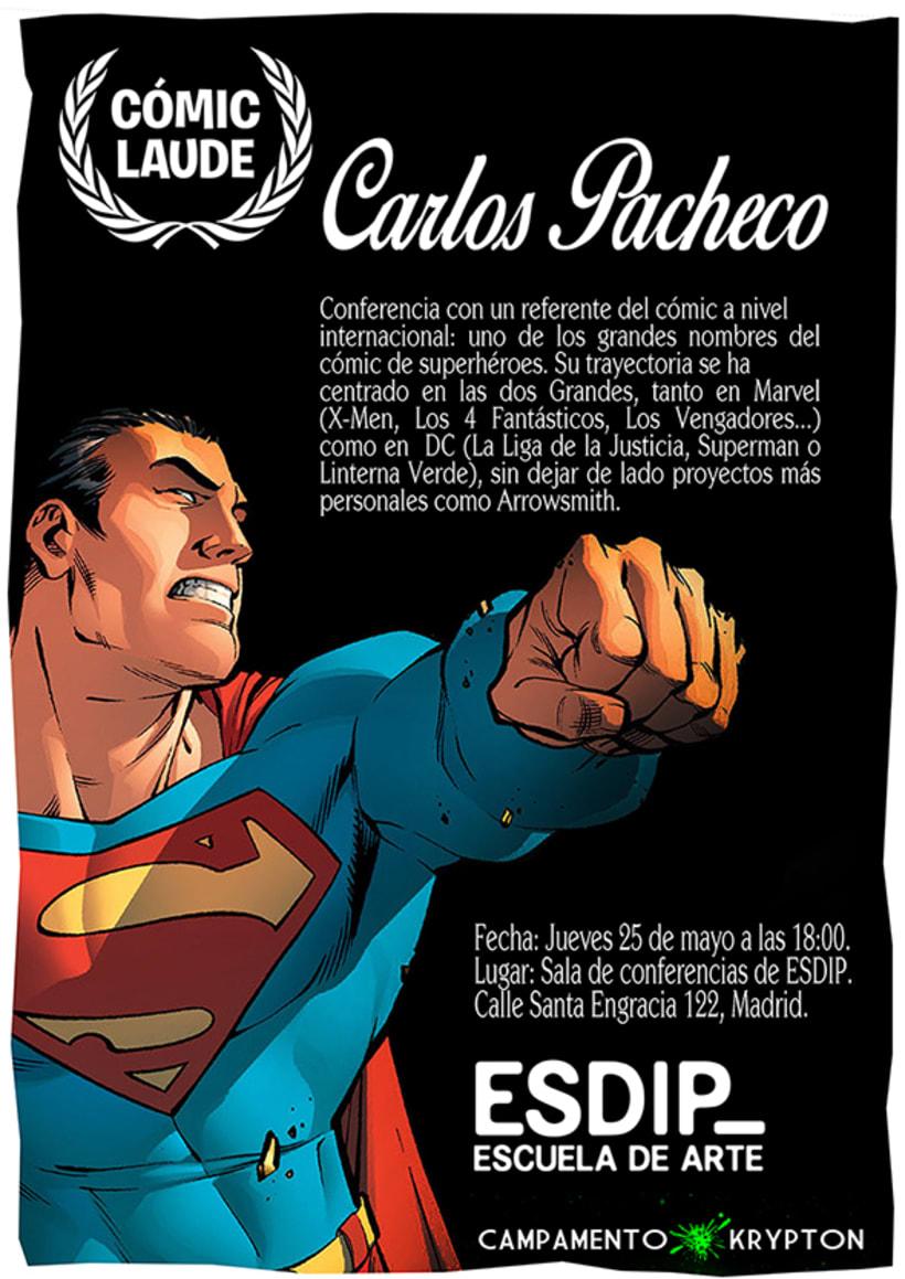 Carlos Pacheco: Conferencia Cómic Laude 1