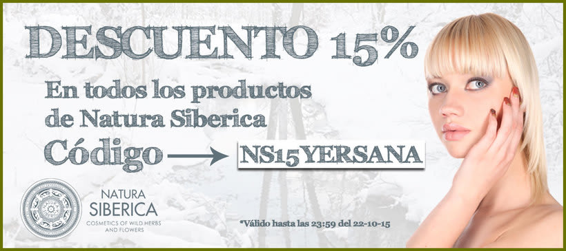 Campaña Natura Siberica YERSANA 2015 0